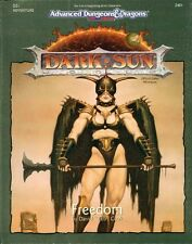AD&D  FREEDOM avventura TSR 2401 Dark Sun Advanced dungeons & dragons NEW SEALED