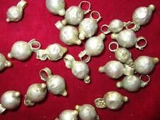 50 LOT VINTAGE Banjara TRIBAL BELLS GHUNGROO BEADS Bellydance Wholesale ATS