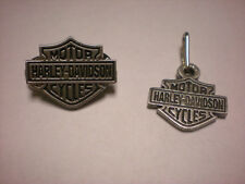HARLEY DAVIDSON ***** CLASSIC SHIELD SET ***   BEAUTIFUL PIN AND ZIPPER PULL