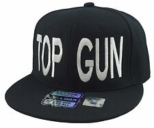 NEW TOP GUN SNAPBACK HAT ADAM DEVINE CAP HAT BLACK