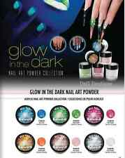 6 PCS Mia Secret GLOW IN THE DARK Acrylic Powder Collection MADE USA FREE GLOBAL