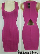 NWT bebe Kayla Cut Out Dress SIZE  S Hot stuff. Show off your curves!!