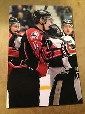 Philippe Myers SIGNED 4x6 photo ROUYN NORANDA HUSKIES / PHILADELPHIA FLYERS #2
