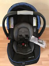 Graco SnugRide Click Connect 35 Infant Car Seat, With Base. New. Royal Blue