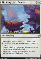2x Rückzug nach Emeria (Retreat to Emeria) Battle for Zendikar Magic