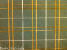 Quality Green Check Curtain Upholstery Fabric Material SALE! Just £7.95 FREE P&P