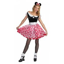 Minnie Mouse Deluxe Adult Womens Sexy Disney Halloween Costume