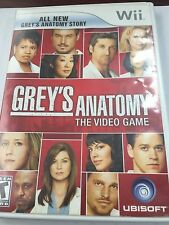 Grey's Anatomy The Video Game WII 2009