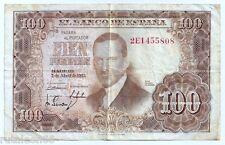 Billete de CIEN PESETAS ( 100 Ptas. ) Abril de 1.953  Julio Romero de Torres