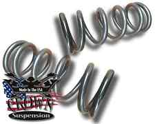 "3"" Front Lowering Coil Springs Drop Kit Fits 1999-2007 Chevrolet Silverado 1500"