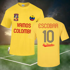 PABLO ESCOBAR COLOMBIA SOCCER T-SHIRT (ALL SIZES AVAILABLE) FOOTBALL, NARCOS