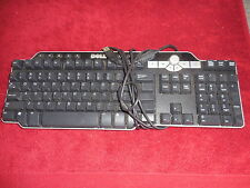 Dell SK-8135 Keyboards With 2 Port USB Hub Multimedia Wired (RC)