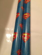 2 Meter Superman Giftwrap Wrapping Paper Roll