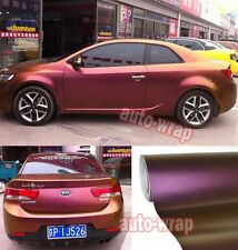 Whole Car Wrap - Glossy Chameleon Vinyl Sticker Gold / Purple 50FT x 5FT - BO