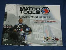 2015 ANTRON BROWN MATCO TOOLS TOP FUEL NHRA POSTCARD