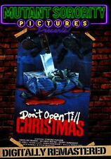 DON'T OPEN TILL CHRISTMAS (1984) - DVD - Region Free - Sealed