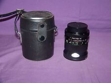 Vivitar 28mm f/2.5 Non-Ai Lens For Canon With Carrying/Storage Case Bundle EUC