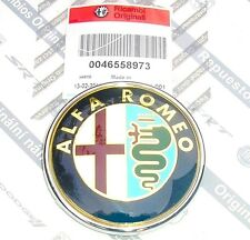 100% GENUINE NEW ALFA ROMEO MITO (ALL MODELS)  Front Grille Bonnet Badge Emblem