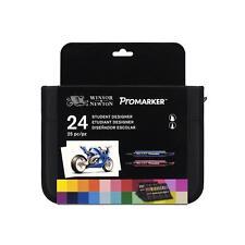 Winsor & Newton Promarker - 24 Set per studenti di marca Portafoglio