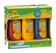 Crayola Beginnings Washable Fingerpaints Finger paints from 24 months 3 colours