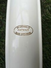 VINTAGE 1950'S BLUEMELS REAR MUDGUARD EXTENSION IN CREAM,IN EXC COND.