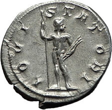 Gordian III 241AD Rome Silver Authentic Ancient Roman Coin Zeus Jupiter i59030