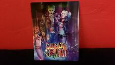 SUICIDE SQUAD - 3D Lenticular Magnetic Cover / Magnet for Bluray Steelbook