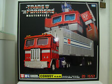 Transformers G1 Masterpiece MP-04 Optimus Prime AFA Case Fresh C9.5 Authentic