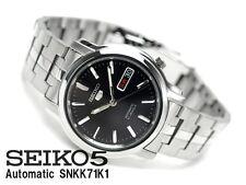 Seiko 5 Automatico Orologio Da Uomo vedere attraverso Indietro SNKK 71k1 Venditore Regno Unito
