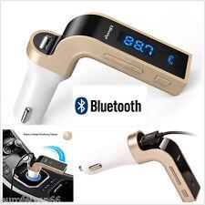 Bluetooth G7 coche MP3 Music Player FM Transmisor Manos Libres De Teléfono Cargador Usb Aux