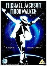 MICHAEL JACKSON MOONWALKER THE MOVIE DVD ALL HIS FAMOUS HITS MUSIC VIDEO NEW UK