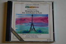 George gershwin - Rhapsody in Blue, Ein Amerikaner in Paris, CD, Klassik