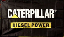 CAT CATERPILLAR DIESEL LOGO 3' x 5' BANNER FLAG garage shop wall decor