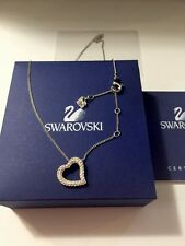 BRAND NEW Swarovski Rhinestone Heart Necklace