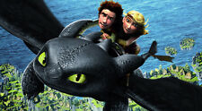 "How to Train Your Dragon 1 2 Wall Movie 21""x13"" Poster H02"