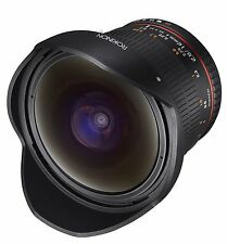 Rokinon 12mm F2.8 Super Wide Angle Fisheye Lens for Nikon FX Digital SLR - 12M-N