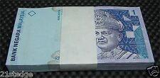 MALAYSIA $1 Ringgit Dollar Bundle Paper Money Stack 100x