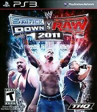 PLAYSTATION 3 SMACK DOWN VS RAW 2011 NEW BONUS EXCLUSIVE UNLOCKABLE ARENA