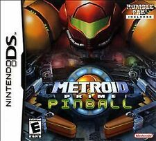 Metroid Prime: Pinball (Nintendo DS, 2005) Complete Game Case Manuals Rumble Pak