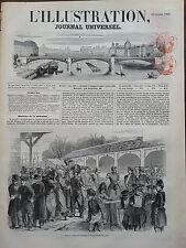 L'ILLUSTRATION 1850 N 405 LES INVALIDES DE LA SUCCURSALE D'AVIGNON A PARIS