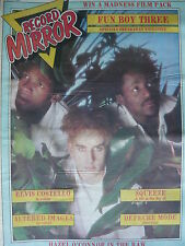 RECORD MIRROR 24/10/81 - FUN BOY THREE - DEPECHE MODE