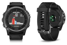Garmin Fenix 3 Sapphire HR GPS Watch Fitness Running Wrist Heart Rate Technology