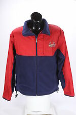 Lee Sport Brand St. Louis Cardinals Fleece Jacket Mens Size Medium Red Blue MLB