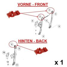1 x BMW E46 FRONT REAR LEFT RIGHT WINDOW REGULATOR REPAIR CLIP 51338218383