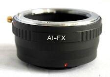 Nikon F AI Mount Lens to Fujifilm X-Pro1 X-E1 Lens Mount Adapter FX Mount AI-FX