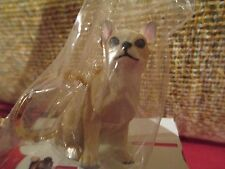 CHIHUAHUA  TAN & WHITE ~ KEY CHAIN ~ GREAT GIFT ITEM