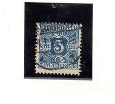 Dinamarca Valor para Periodicos año 1907 (BN-390)