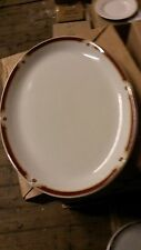 Wood and sons Balmoral 30cm. (12ins.) X 2 placas Oval.