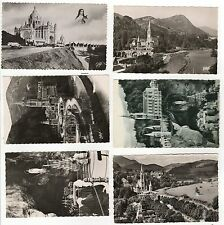 LOURDES FRANCE RPPC LOT Real Photo Postcard OUR LADY Lisieux FRENCH Basilica