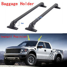 2PCS Aluminum Roof Rack Luggage carrier Roof Carrier For Ford Series F 2008-2016